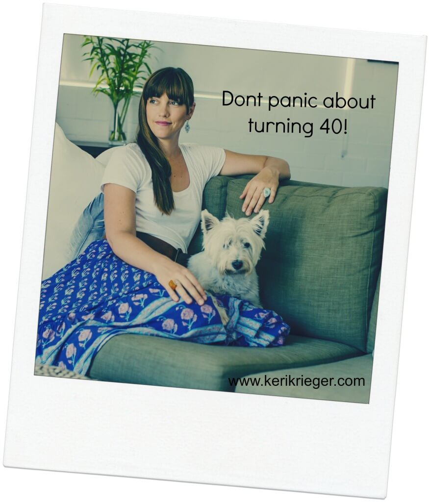 Turning 40 image
