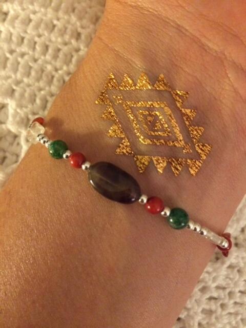 Violet Gray Intentional Jewels Bracelet