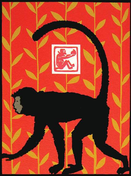 Keri Krieger Chinese new year Monkey